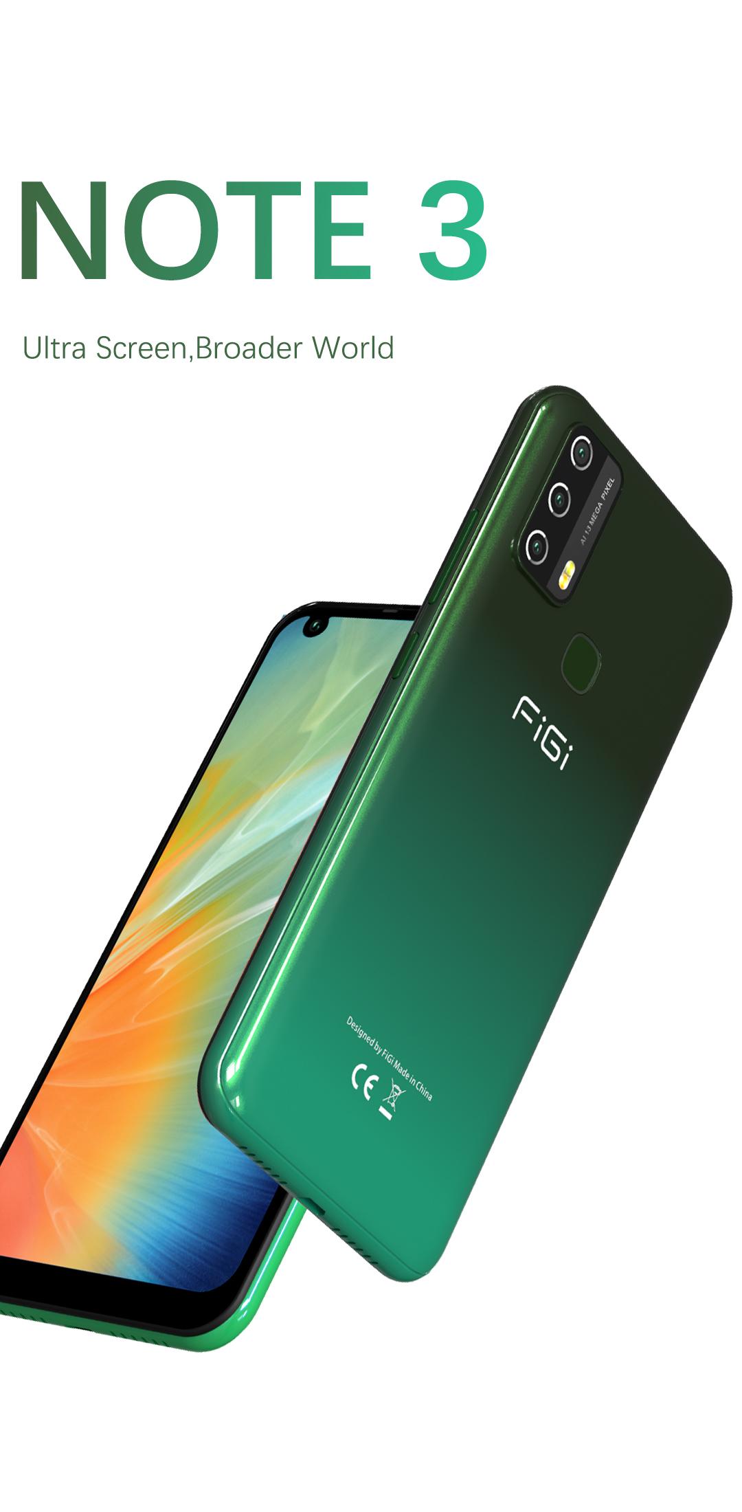 Смартфон FiGi Note 3 3/32Gb 2