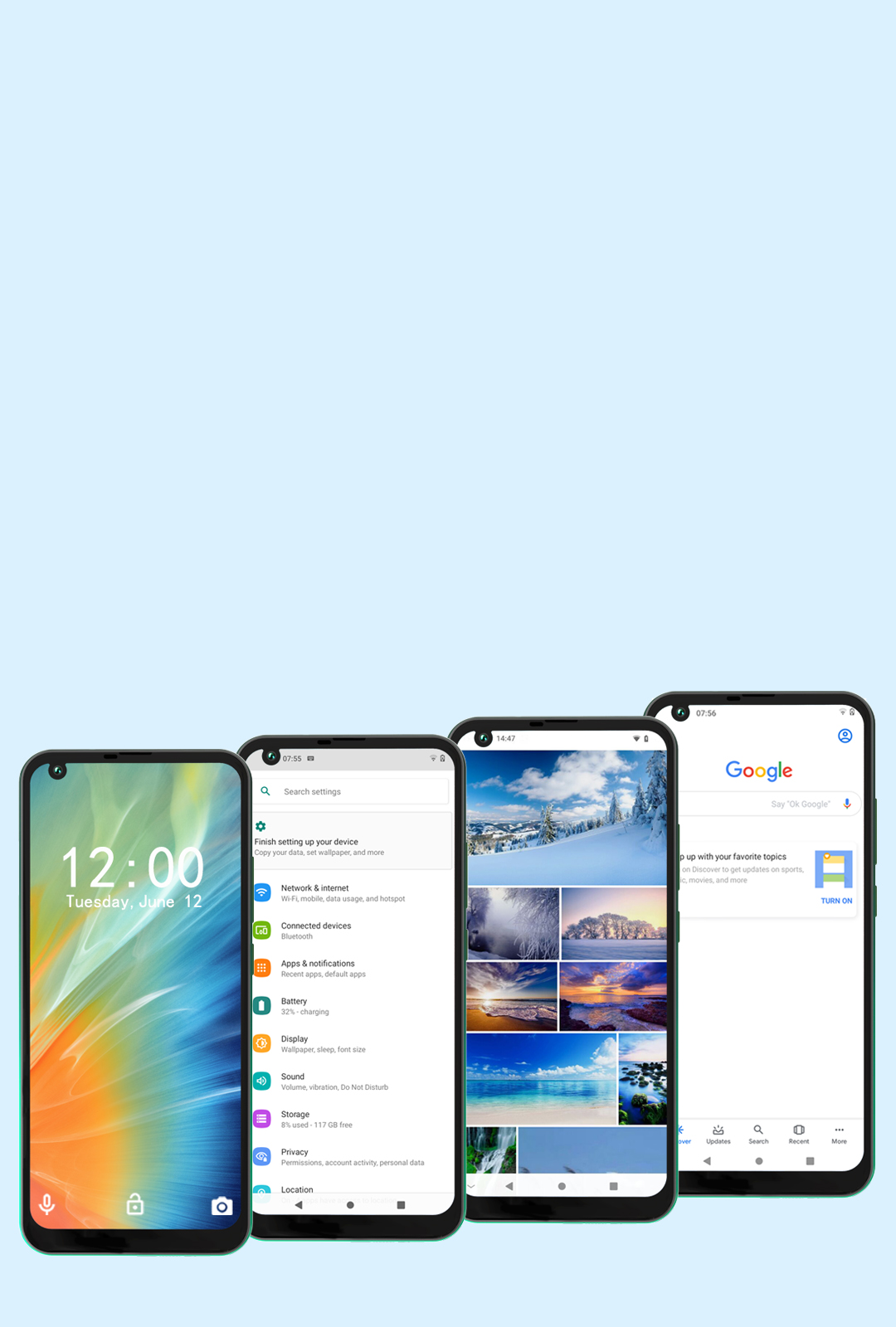 Смартфон FiGi Note 3 3/32Gb 10