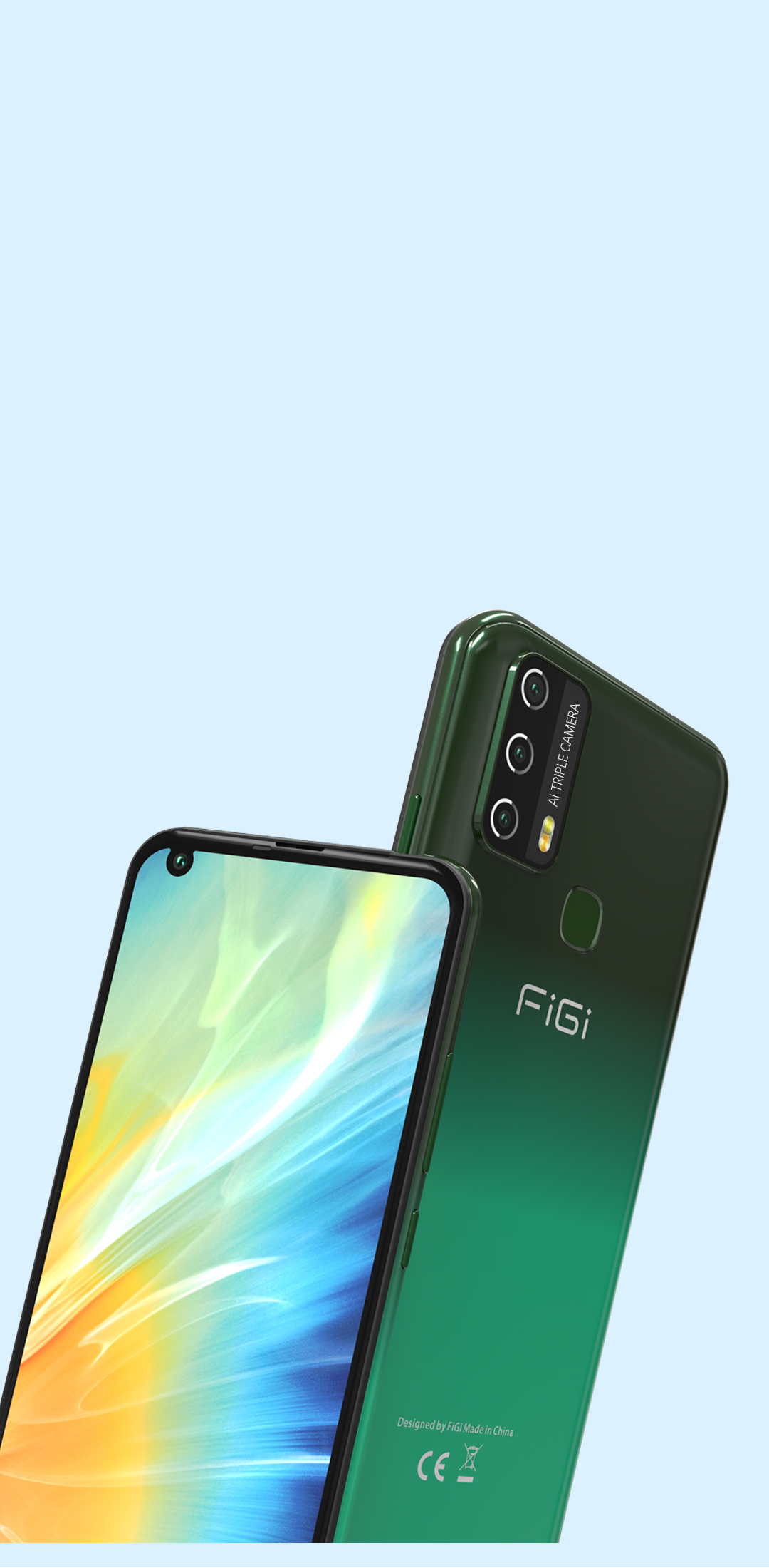 Смартфон FiGi Note 3 3/32Gb 6