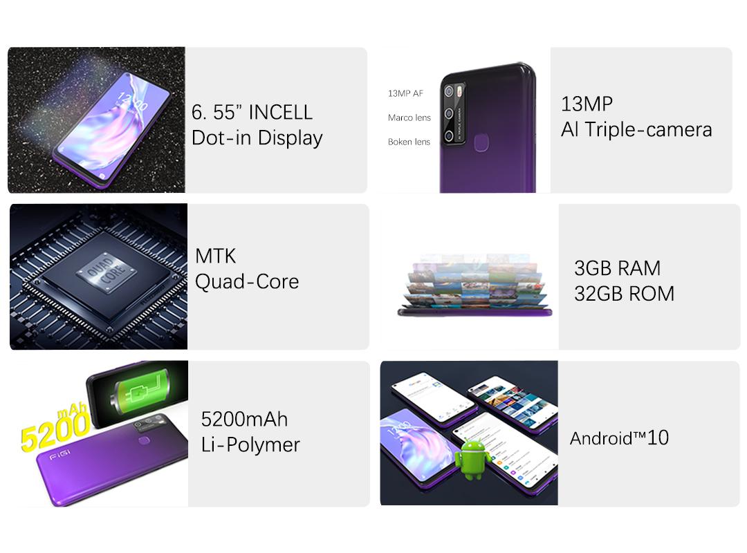 Смартфон FiGi Note 11 3/32Gb 4