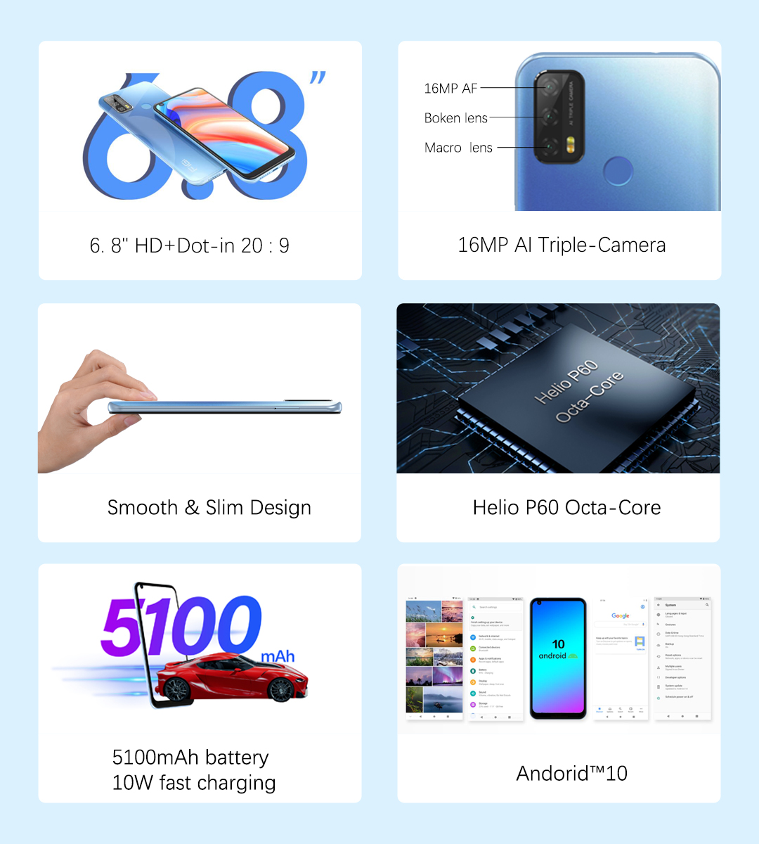 Смартфон FiGi Note 3 Pro 4/128